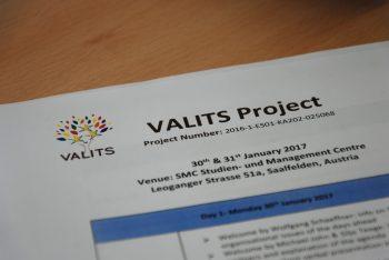 VALITS – pierwsze spotkanie partnerskie w Saalfelden