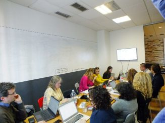 START IN – project kick-off meeting.