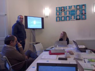 Kick-off meeting within BOOST4Shoes project