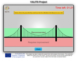 VALITS project VALIDATION TOOL launch