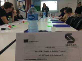 Piąte szkolenie LTTA w ramach projektu SPREAD